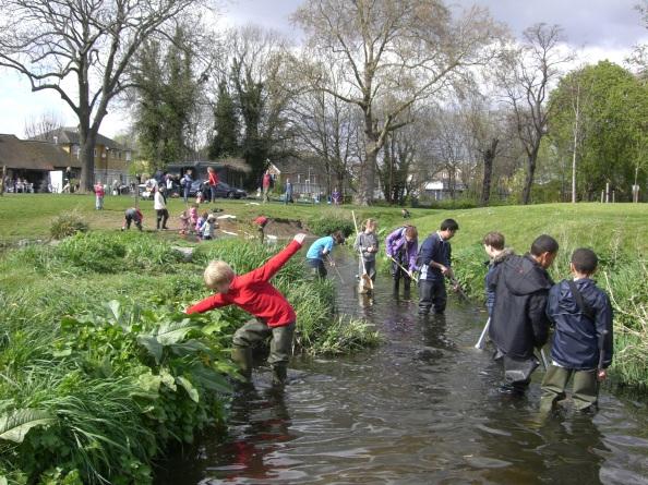 School session in Ladywell Fields