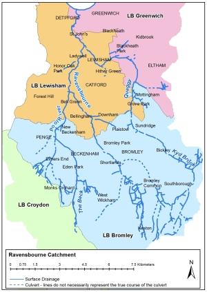 Ravensbourne Catchment Improvement group overview