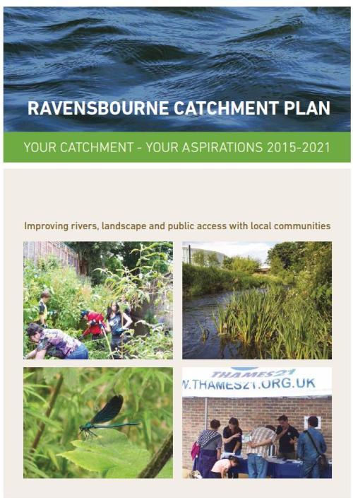 Ravensbourne Catchment plan front page