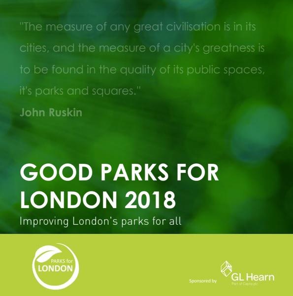 Good Parks for London 2018